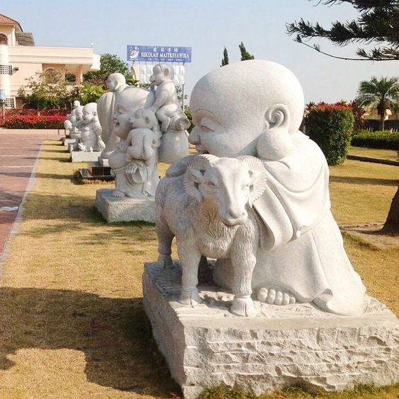 Chùa Maha Vihara Duta Maitreya ở Batam