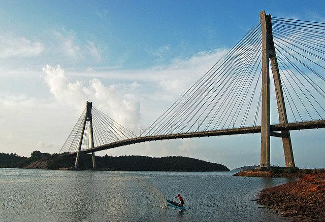Cầu Barelang ở Batam